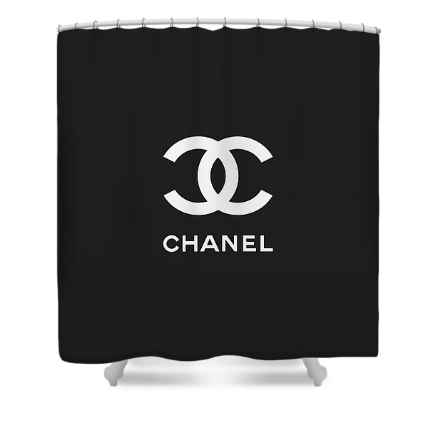 Chanel - Black And White 03 - Lifestyle And Fashion Shower Curtain