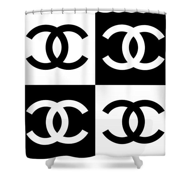 Chanel Design-5 Shower Curtain