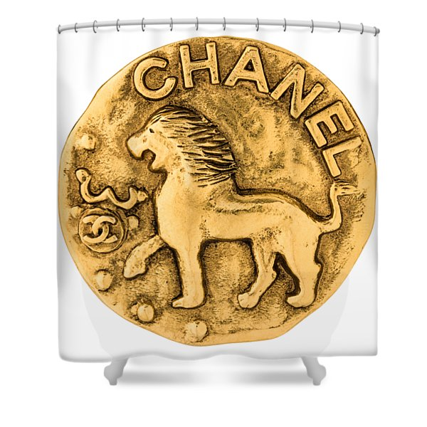 Chanel Jewelry-1 Shower Curtain
