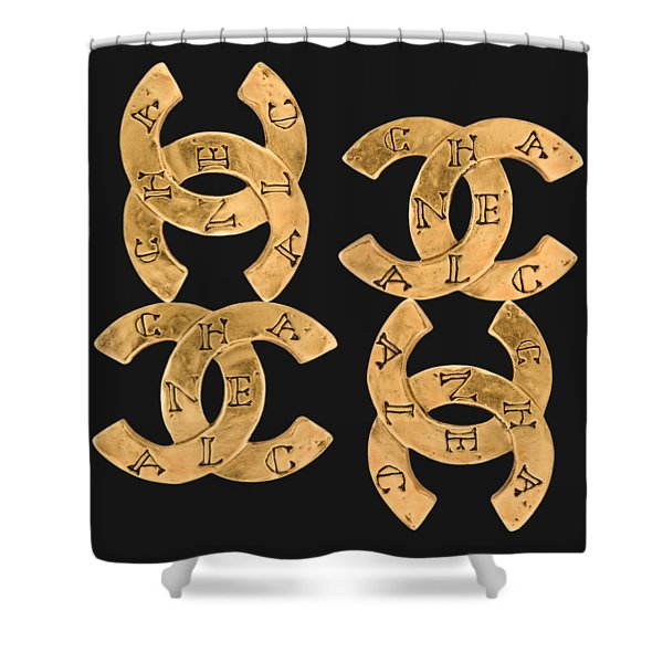 Chanel Jewelry-18 Shower Curtain