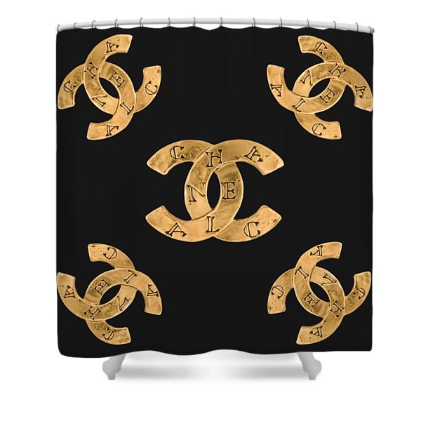 Chanel Jewelry-19 Shower Curtain