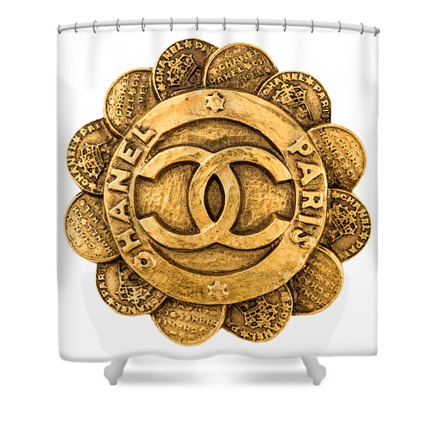 Chanel Jewelry-2 Shower Curtain