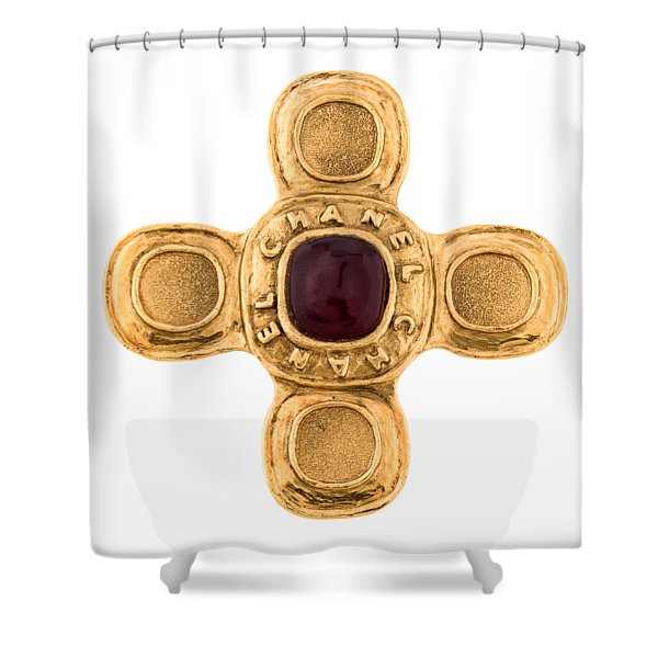 Chanel Jewelry-6 Shower Curtain