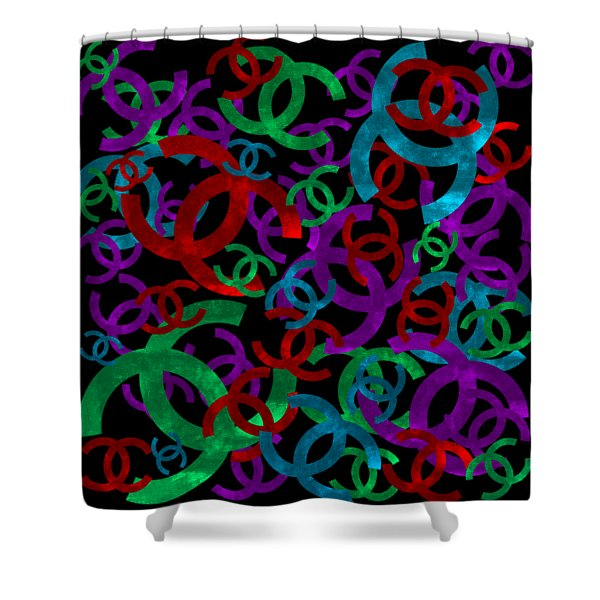 Chanel Sign-2 Shower Curtain