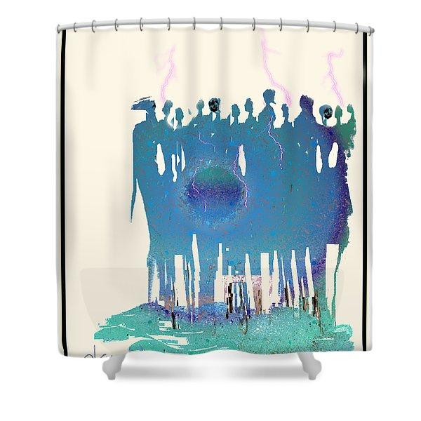 Women Chanting - Recharging The Earth Shower Curtain