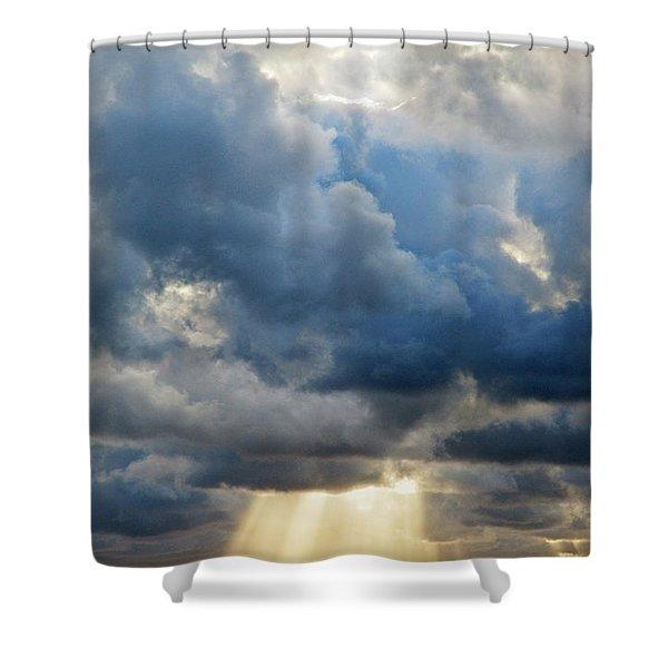 Celestial Light Shower Curtain