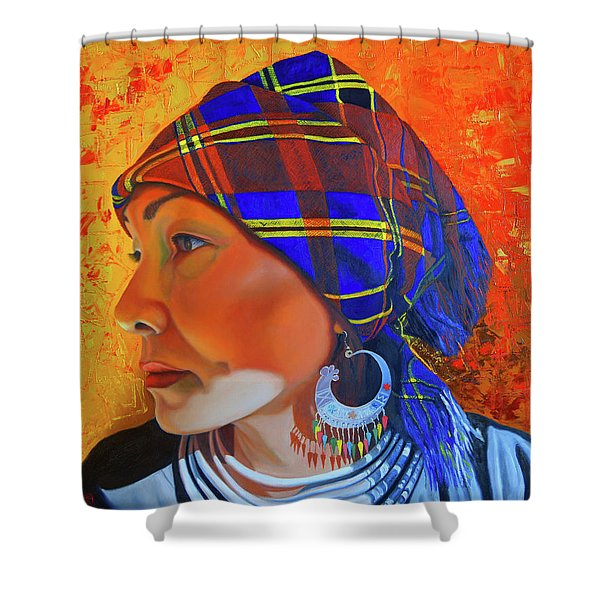 Chaos And Order Shower Curtain