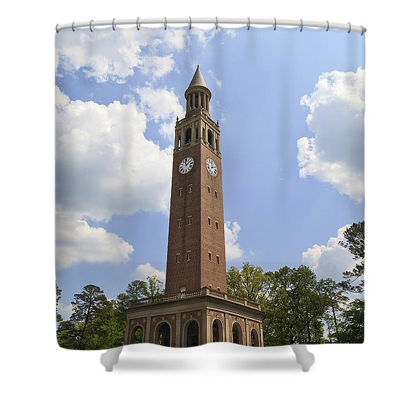 Chapel Hill Bell Tower Shower Curtain