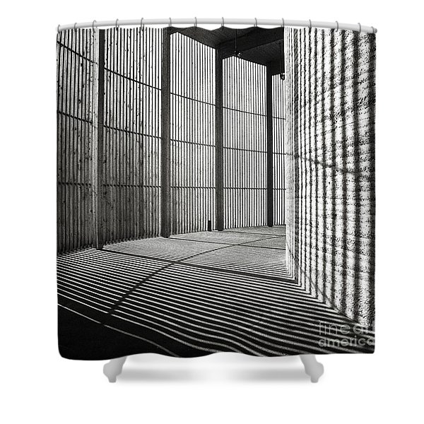 Shower Curtain featuring the photograph Chapel Of Reconciliation In Berlin by Silva Wischeropp