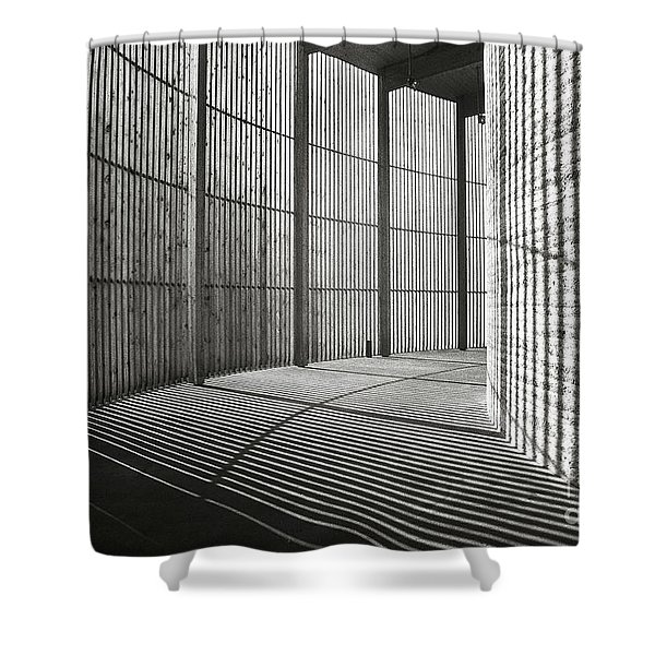 Shower Curtain featuring the photograph Chapel Of Reconciliation  by Silva Wischeropp