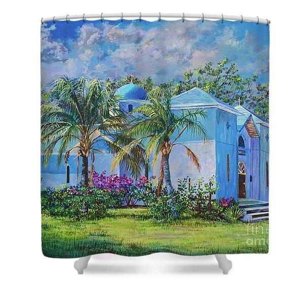 Chapel Of St. Panteleimon Shower Curtain