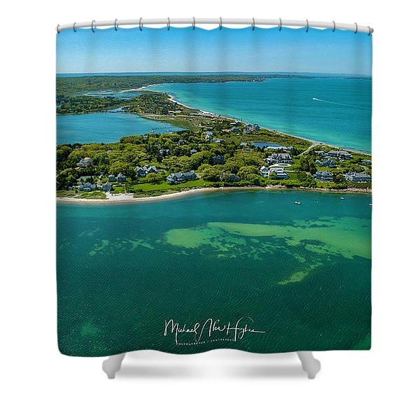 Chapoquoit Island Shower Curtain