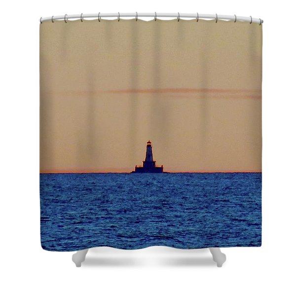 Charity Light Shower Curtain