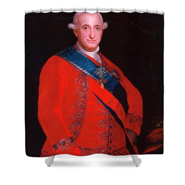 Charles Iv Shower Curtain