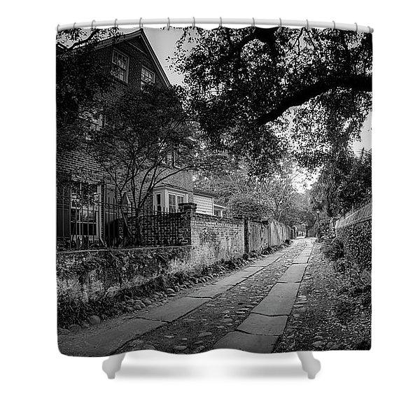 Charleston Ally Path Shower Curtain