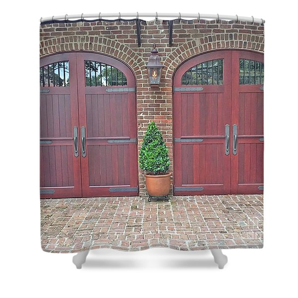 Charleston Doors Shower Curtain