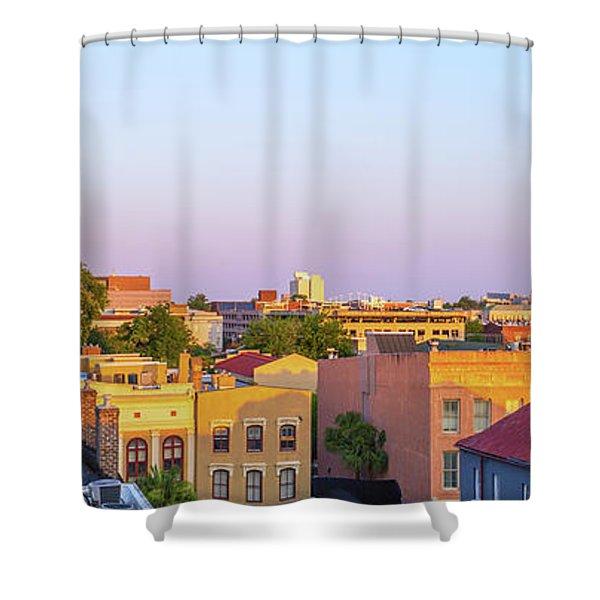 Charleston Glows Shower Curtain