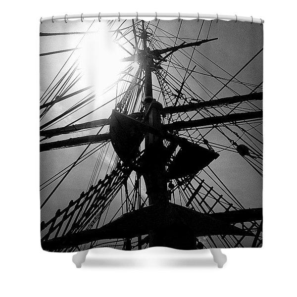 Return Voyage  Shower Curtain