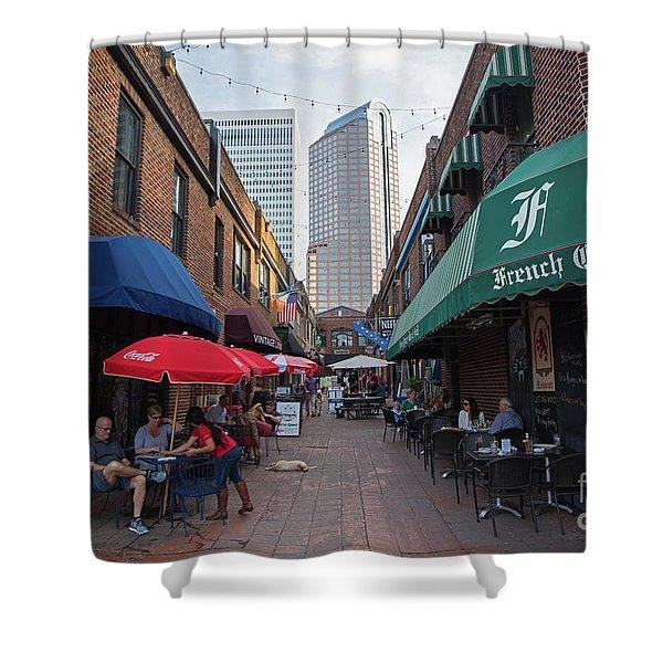Charlotte, North Carolina Shower Curtain