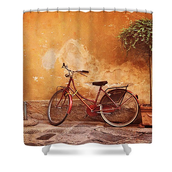 Charming Lucca Shower Curtain