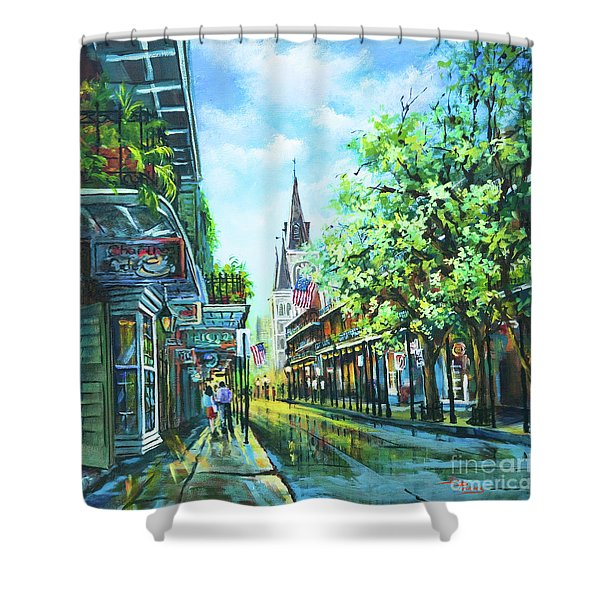 Chartres Afternoon Shower Curtain