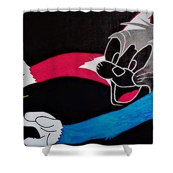 Chase Your Dream Shower Curtain