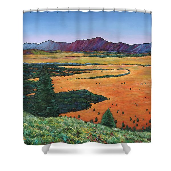 Chasing Heaven Shower Curtain