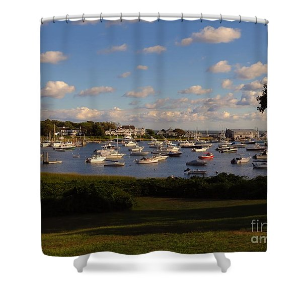 Chatham Marina Shower Curtain