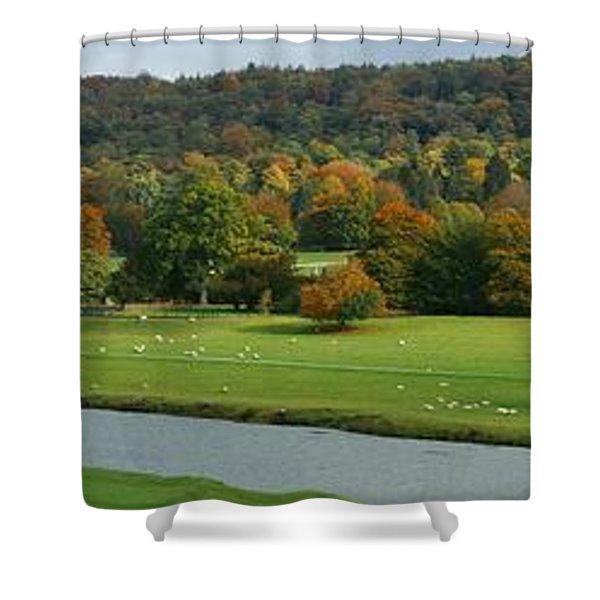 Chatsworth Panorama Shower Curtain