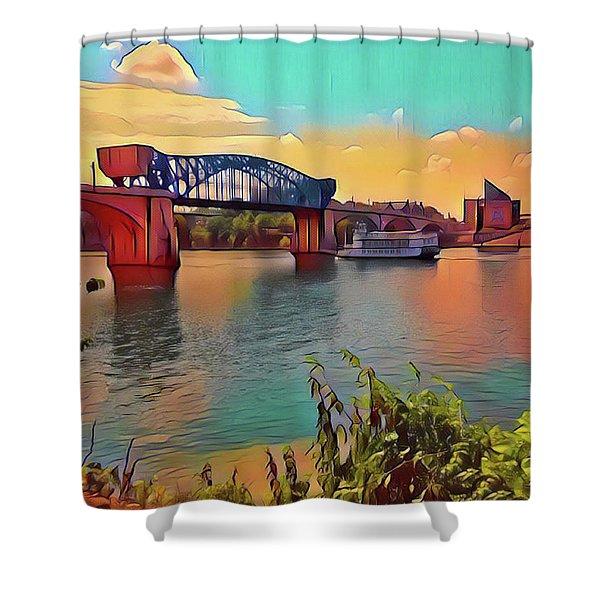 Chatta Choo Choo Shower Curtain