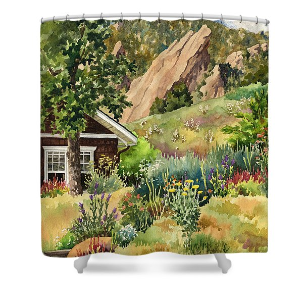 Chautauqua Cottage Shower Curtain