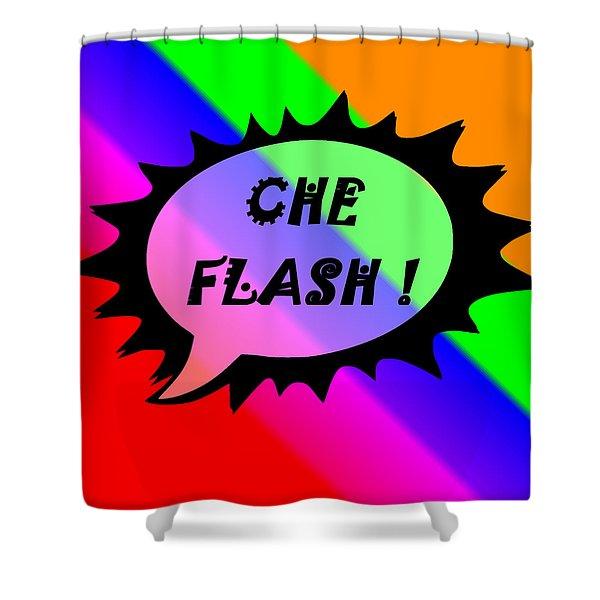 Che Flash Shower Curtain