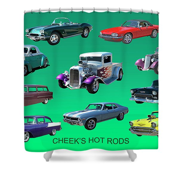 Hot Collection Shower Curtain