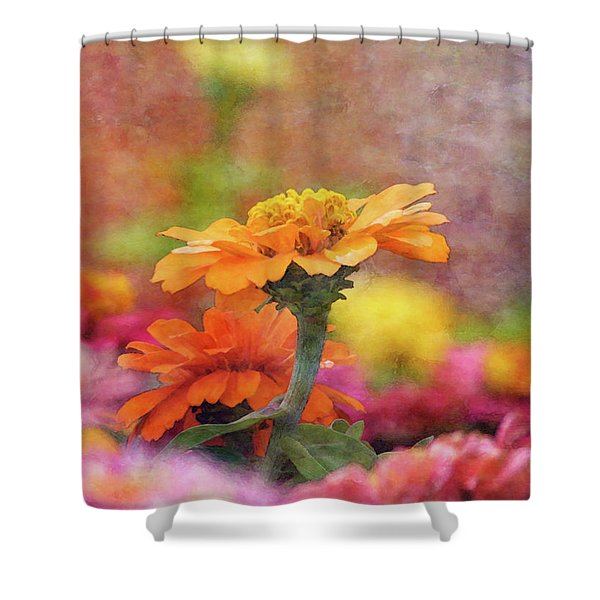 Cheerful Shades Of Optimism 1311 Idp_2 Shower Curtain