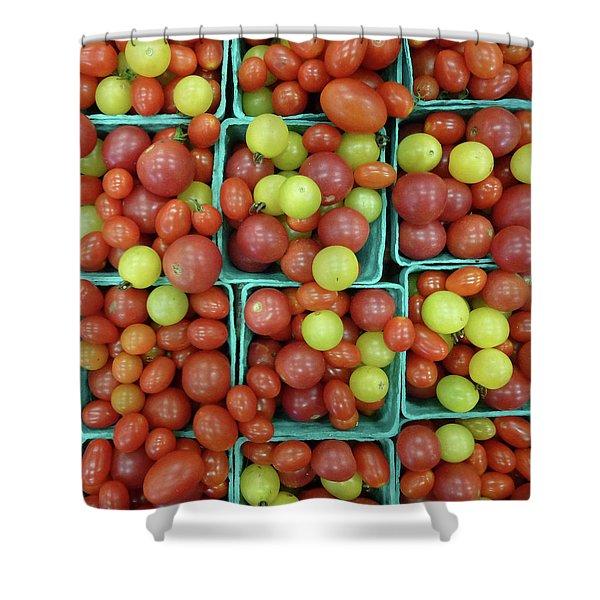 Cheery Cherry T's Shower Curtain