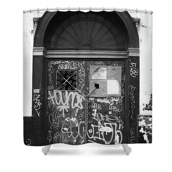 Chelsea Doorway Nyc Shower Curtain