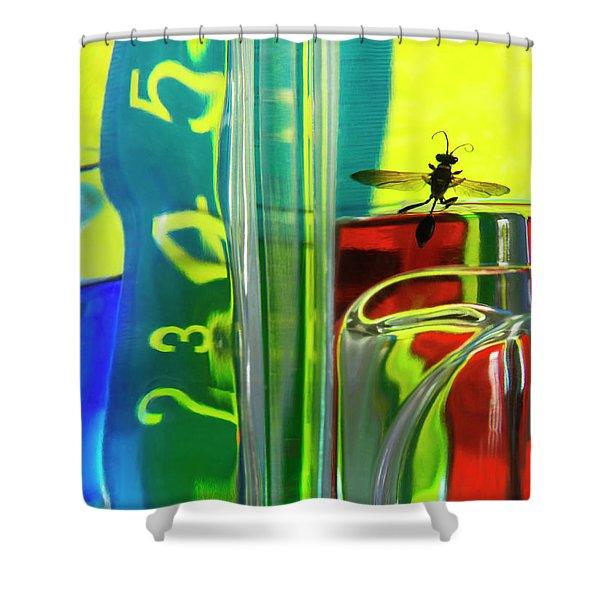 Chemistry Lab 1 Shower Curtain