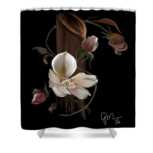 Cherokee Rose Shower Curtain