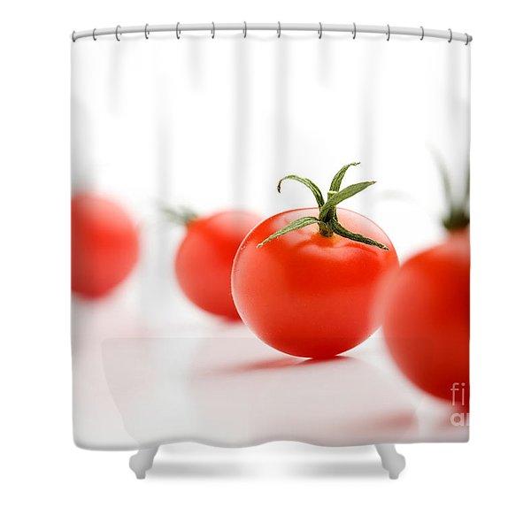 Cherry Tomatoes Shower Curtain