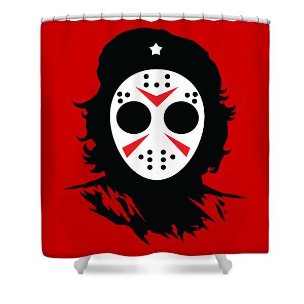 Che's Halloween Shower Curtain