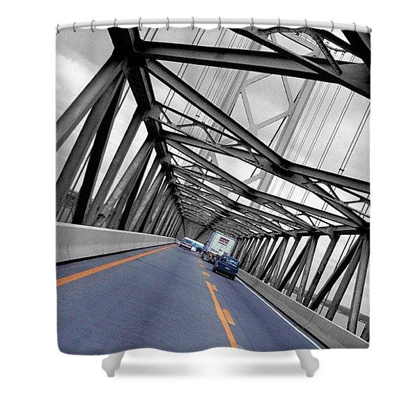 Chesapeake Bay Bridge Shower Curtain