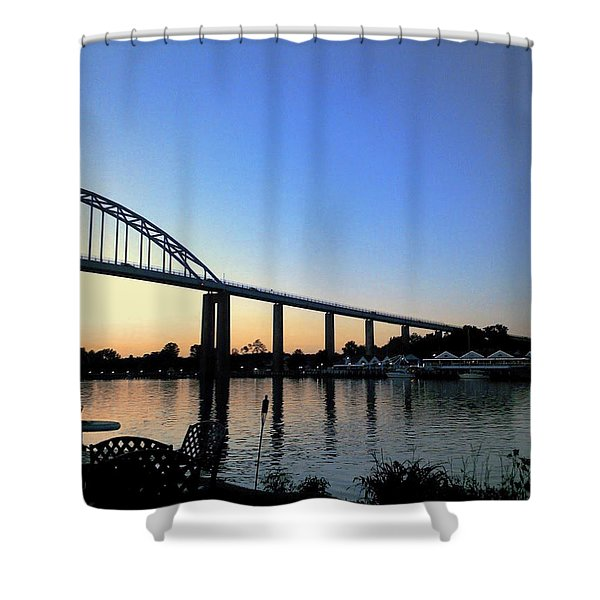 Chesapeake City Shower Curtain
