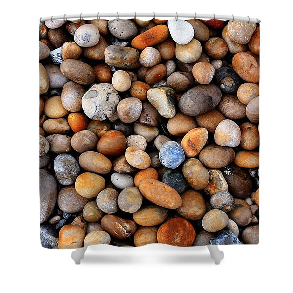 Chesil Pebbles Shower Curtain