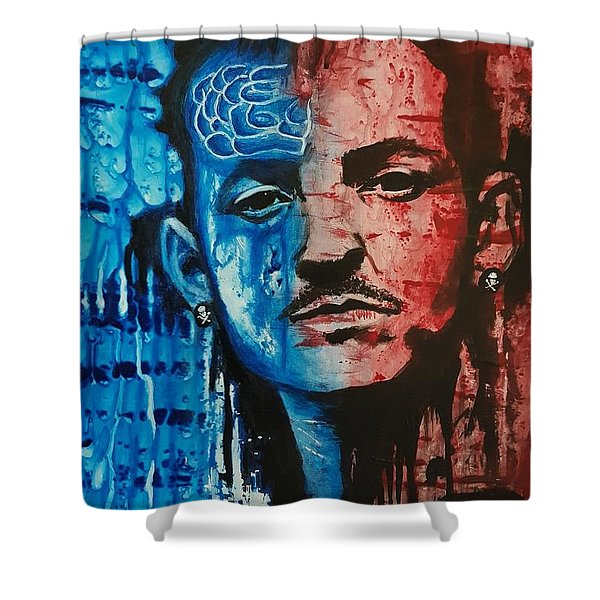 Heavy Thoughts Shower Curtain