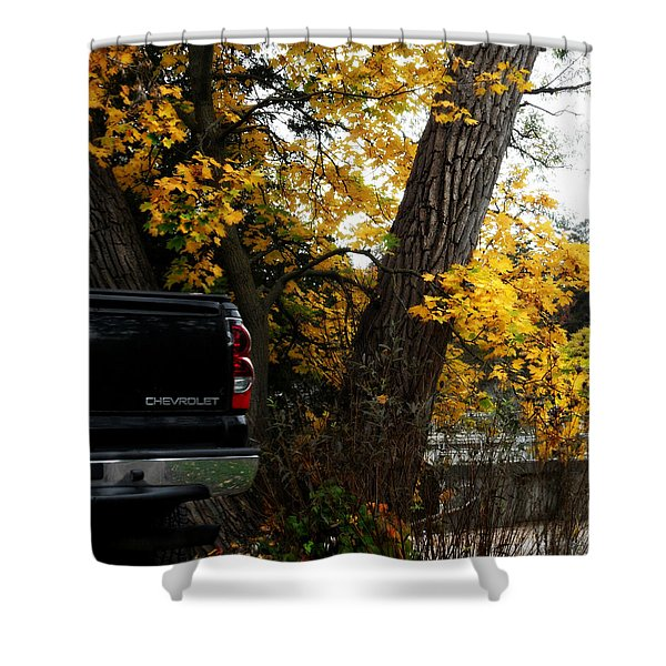 Chev All The Way Shower Curtain