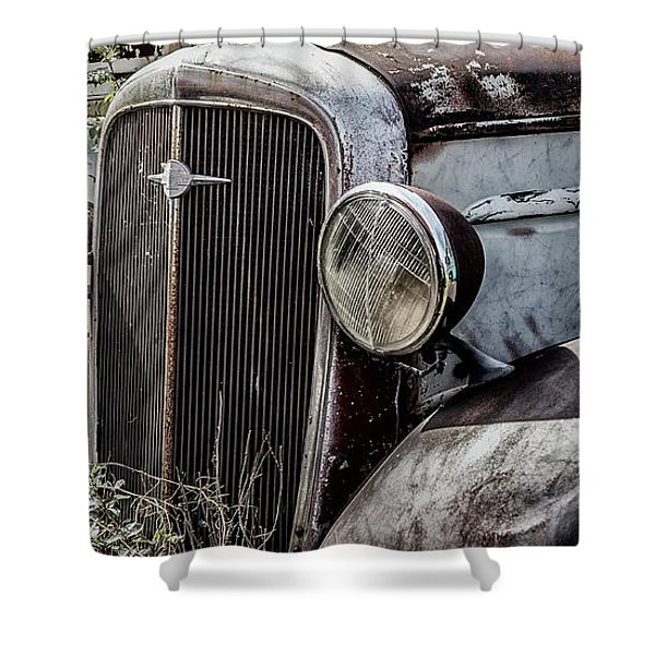 Chevy Grill IIi Shower Curtain