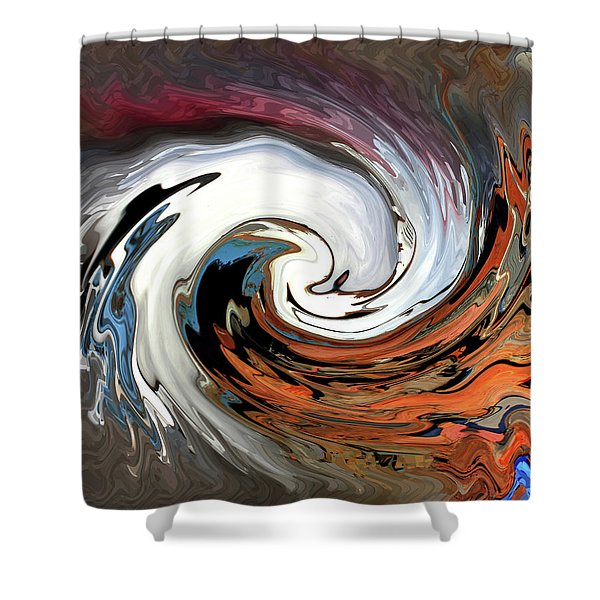 Shower Curtain featuring the photograph Chevy On The Rez by Wayne King