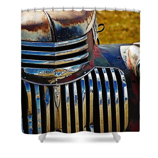 Chevy Truck Shower Curtain