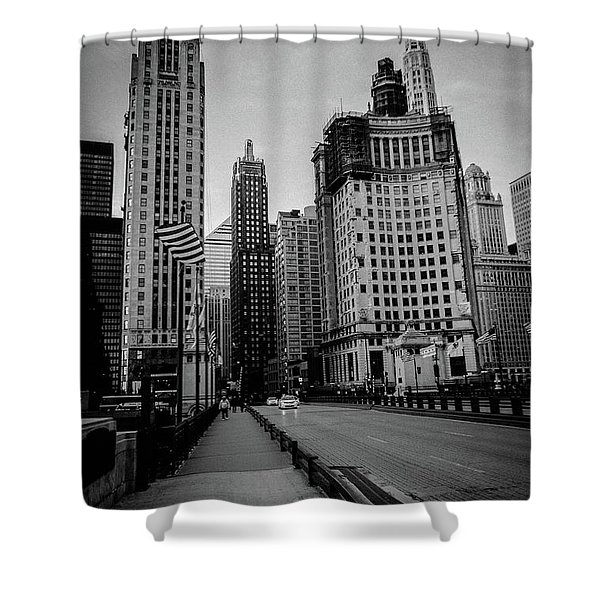 Chi Strolling Shower Curtain