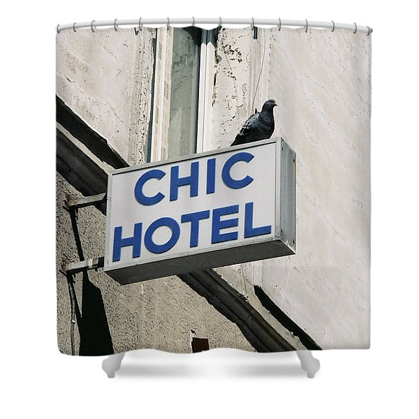 Chic Hotel Shower Curtain